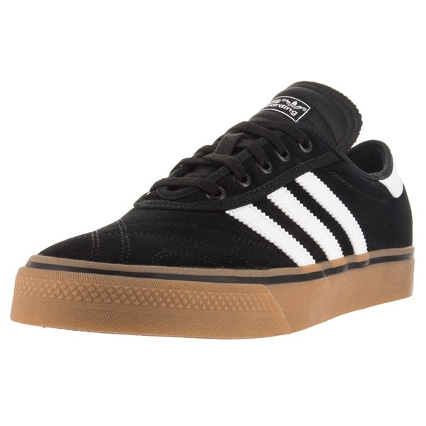 Adidas Men's Adi-Ease Premiere Black/White/Gum4 Skate Shoe