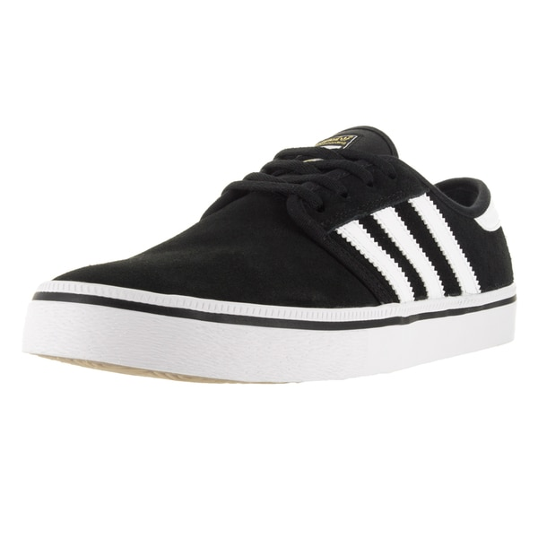 Adidas Men's Seeley A Black/White/Black Skate Shoe