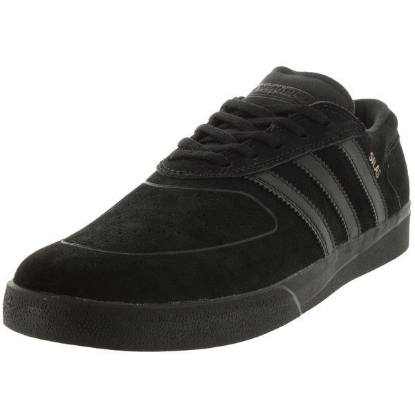 Adidas Men's Silas Vulc A Black Skate Shoe