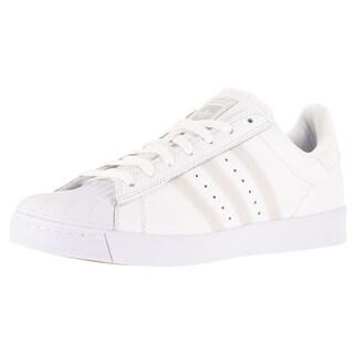 Adidas Men's Superstar Vulc White/White Skate Shoe