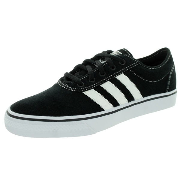 Adidas Men's Adi Ease Black/RunWhite/Black Skate Shoe