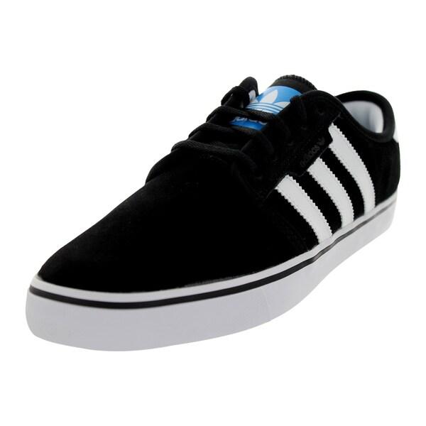 Adidas Men's Seeley Black/RunWhite/Pool Skate Shoe