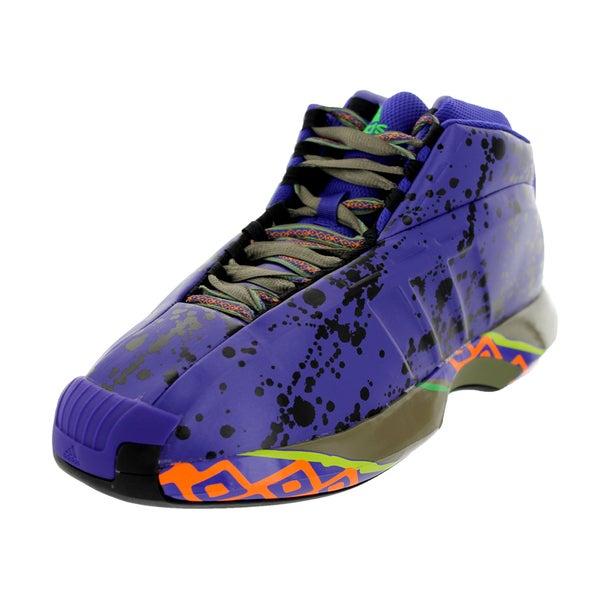 Adidas Men's Crazy 1 Blapur/Black/Vivg Basketball Shoe
