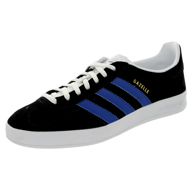Adidas Men's Gazelle Indoor Originals Black/White Casual Shoe
