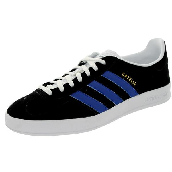 Adidas Men's Gazelle Indoor Originals Black/White Casual Shoe