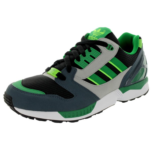 Adidas Men's Zx 8000 Originals Black/Green/Boonix Running Shoe