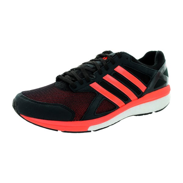 Adidas Men's Adizero Tempo 7 M Black/Orange Running Shoe