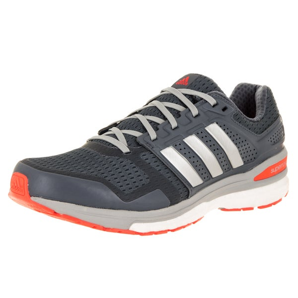 Adidas Men's Supeova Sequence Boost 8 Grey Running Shoe