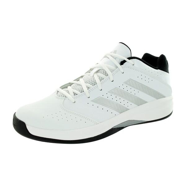 Adidas Men's Isolation 2 Low WhitevMint/Black Basketball Shoe