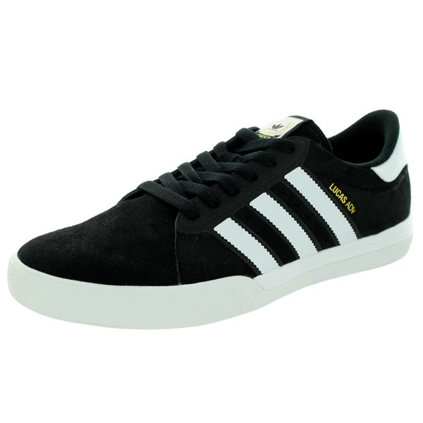 Adidas Men's Lucas A Black/White/Goldmt Skate Shoe