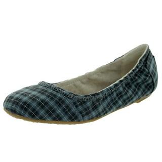 Toms Women's Ballet Flat Black Grey Casual Shoe