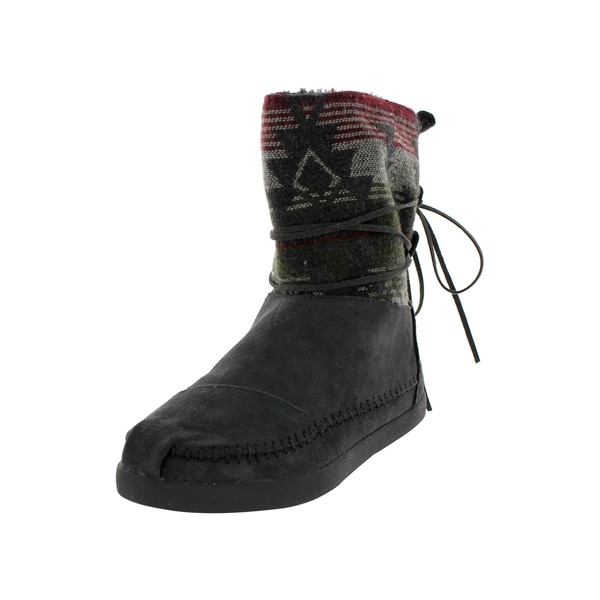 Toms Women's Nepal Jacquard Boots Grey Boot