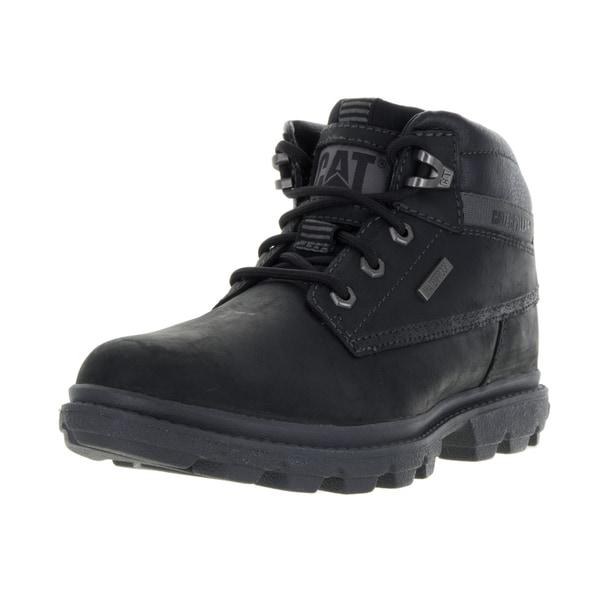 Caterpillar Men's Grady WP Black Boot