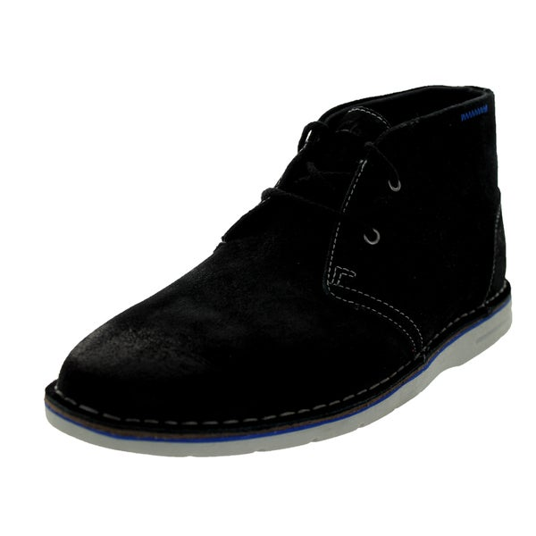 Clarks Men's Sandover Hi Black Boot