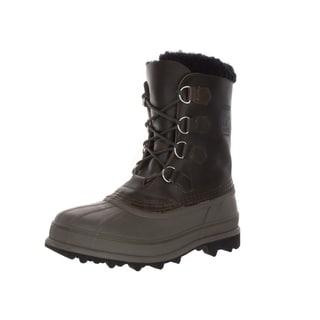 Sorel Men's Caribou Wl Surplus Green/White Boot