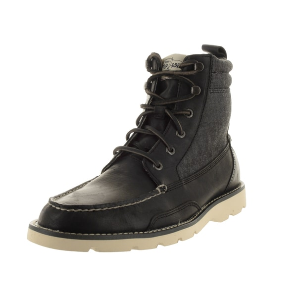 Sperry Top-Sider Men's Shipyard Rigger Black/Gr Cham Boot