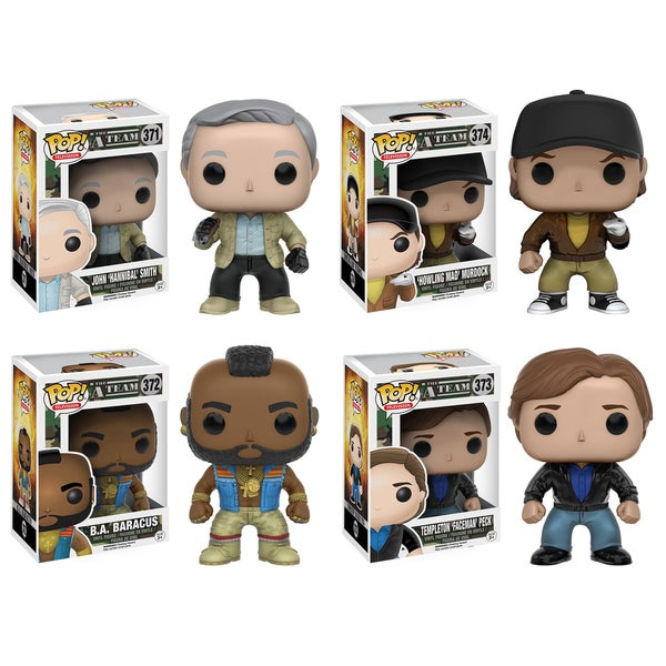 Funko A-Team POP! TV Collectors Set