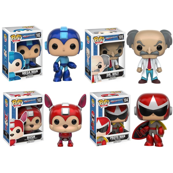 Pop! Games Funko Megaman Collectors Set