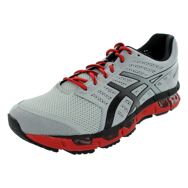 Asics Gel-Cirrus33 Red and Grey Running Shoe