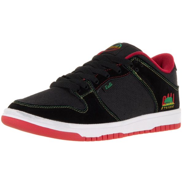 Cali Strong Hollywood Black/Rasta Skate Shoe