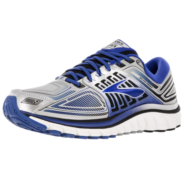 Brooks Men's Glycerin 13 Silver/Electricbrooks/Black Running Shoe