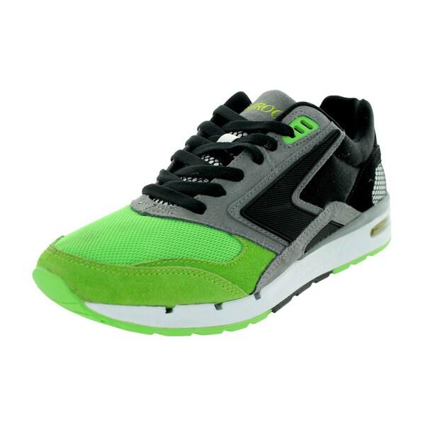 Broooks Men's Fusion Greenflash/Black/Darkgrey Running Shoe