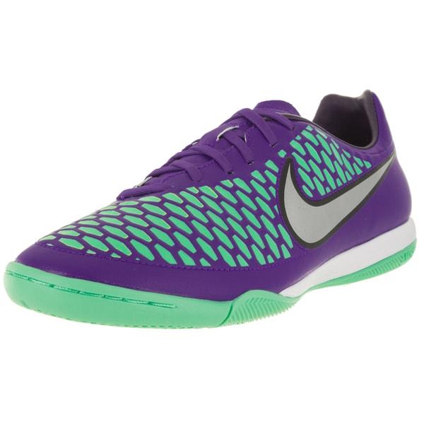 Nike Men's Magista Onda Ic Hyper Grape/Metallic Silver/Purple Indoor Soccer Shoe