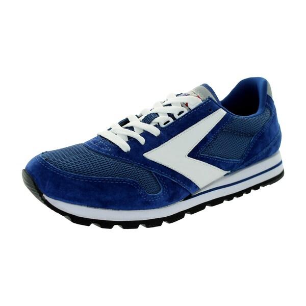 Brooks Men's Chariot Navy Blue/White Running Shoe