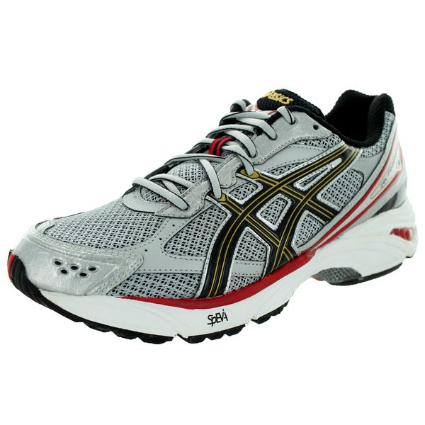 Asics Men's Gel-Foundation 8 (2E) Lightning/Black/True Red Running Shoe