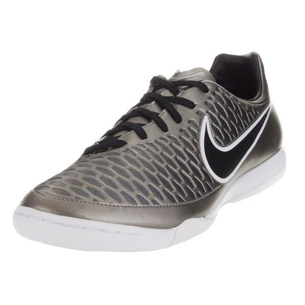 Nike Men's Magista Onda Ic Pewter/Black/Green/White Indoor Soccer Shoe