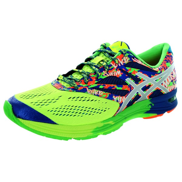 Asics Men's Gel-Noosa Tri 10 Flash Yellow/Lightning/Blue Running Shoe