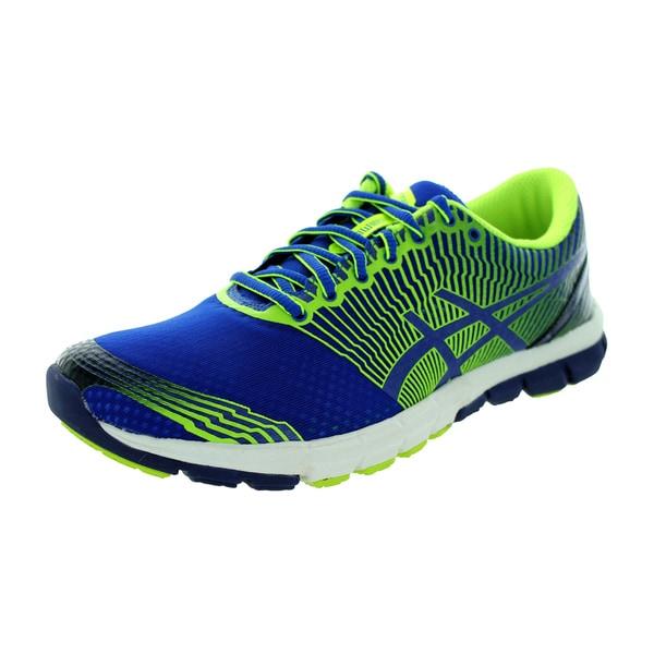 Asics Men's Gel-Lyte33 3 Royal/Flash Yellow/Navy Running Shoe