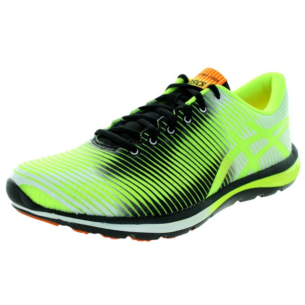 Asics Men's Gel-Super J33 Flash Yellow/Black/Flash Orange Running Shoe