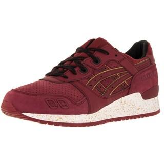 Asics Men's Gel-Lyte Iii Burgundy/Burgundy Running Shoe