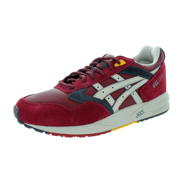 Asics Men's Gelsaga Burgundy/Off White Running Shoe