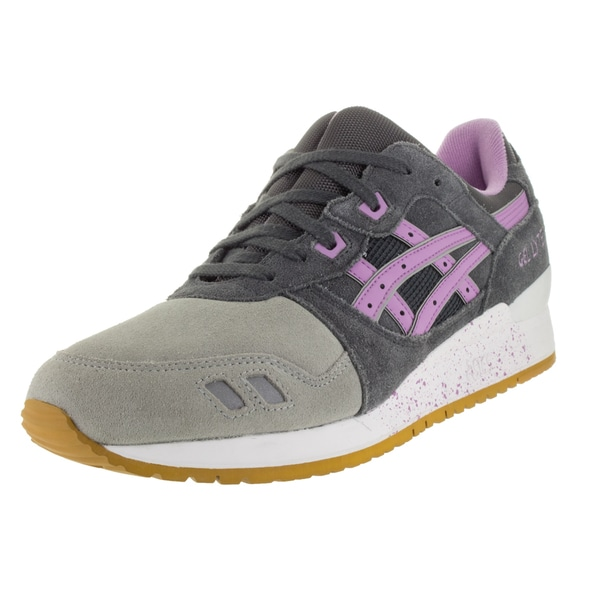 Asics Men's Gel-Lyte Iii Dark Grey/Sheer Lilac Running Shoe