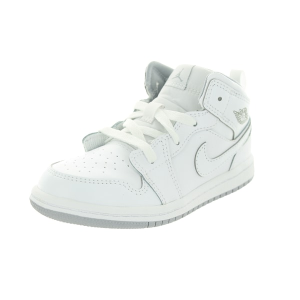 Nike Jordan Toddlers White Basketball Shoe