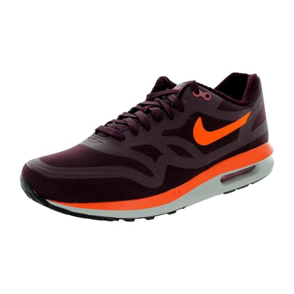 Nike Men's Air Max Lunar1 Wr Deep Burgundy/ Crmsn/Rd Cly Running Shoe