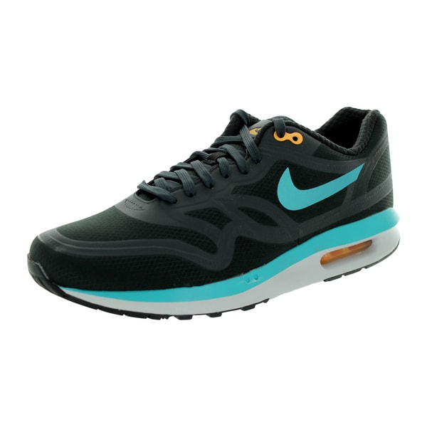 Nike Men's Air Max Lunar1 Wr Dark Ash/Dusty Cactus/Lsr Orange Running Shoe