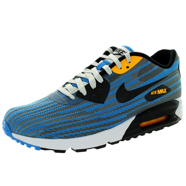 Nike Men's Air Max Lunar90 Jcrd Light Ash Grey/Black/Black/ Running Shoe