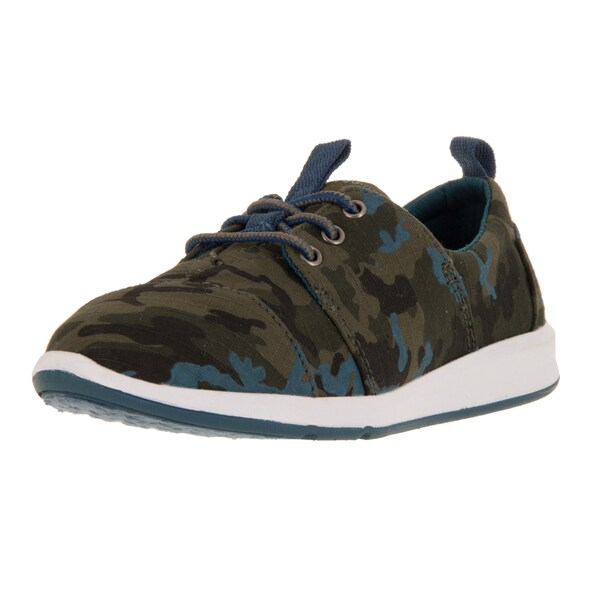 Toms Kid's Del Rey Sneaker Camo Printed Casual Shoe