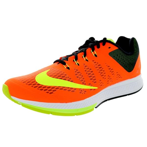 Nike Men's Air Zoom Elite 7 Hyper Crimson/Volt/Black Running Shoe