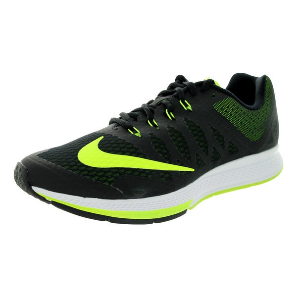 Nike Men's Zoom Elite 7 Black/Volt/White Running Shoe