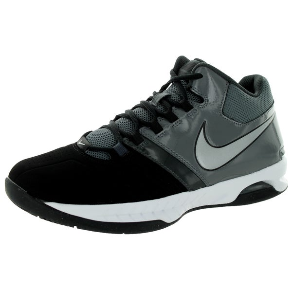 Nike Men's Air Visi Pro V Nbk Black/Metallic Silver/Dark Grey/Anthracite Basketball Shoe