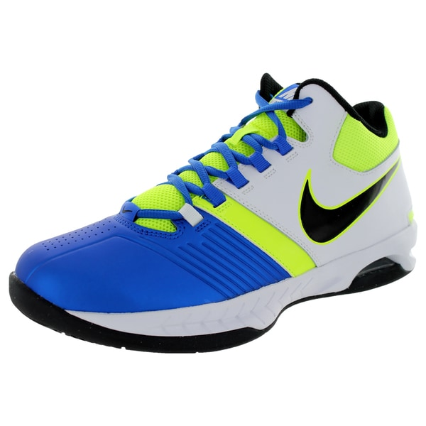 Nike Men's Air Visi Pro V Hyper Cobalt/Black/White/Volt Basketball Shoe