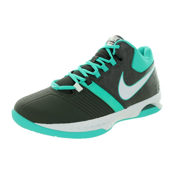 Nike Men's Air Visi Pro V Midnight Fog/White/Lt Retro Basketball Shoe