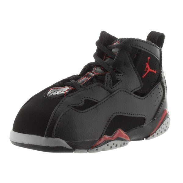 Nike Jordan Black Toddlers True Flight Basketball Shoe
