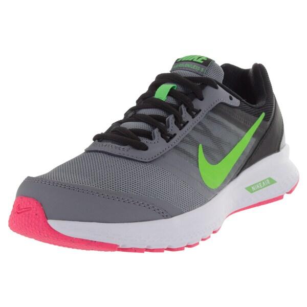 Nike Women's Air Releness 5 Cl Grey/ G/Black/Pink Running Shoe