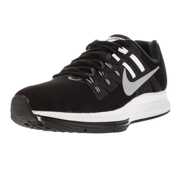 Nike Women's Air Zoom Structure 19 Flash Black/Rflct Slver/Grey/ Running Shoe