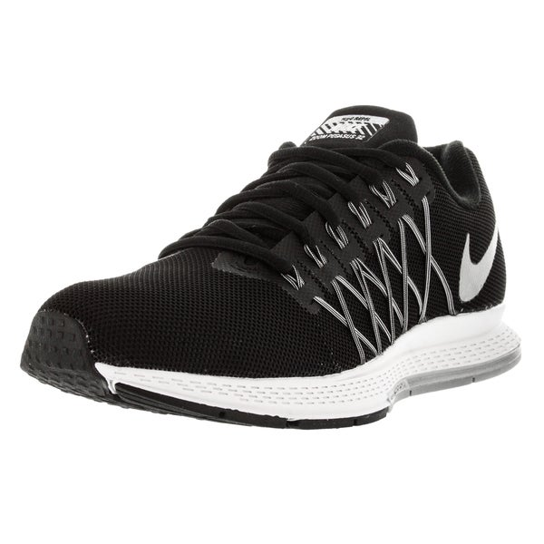 Nike Women's Air Zoom Pegasus 32 Flash Black/Rflct Slver/Cl Gr Running Shoe